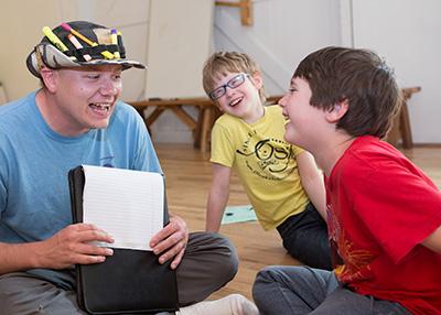 Creative writing camp for kids in Washington
